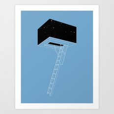 The Attic Art Print