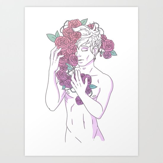 Pretty Boy 1 Art Print