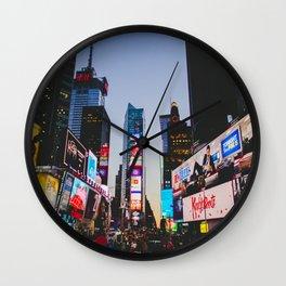 New York City 83 Wall Clock