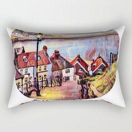 Wandering Whitby Rectangular Pillow