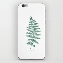 New Zealand Tree Fern iPhone Skin