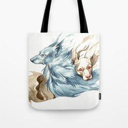 Whisp Hounds Tote Bag