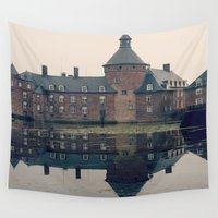 castle Wall Tapestries featuring Castle by DuniStudioDesign