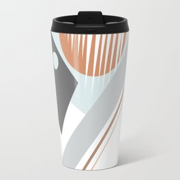 Geo Pattern Travel Mug