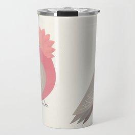 Whimsy Galah Travel Mug