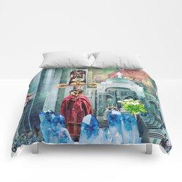 I Live Below Comforters