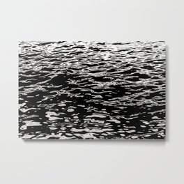 Black gold - waters of the Douro river Metal Print
