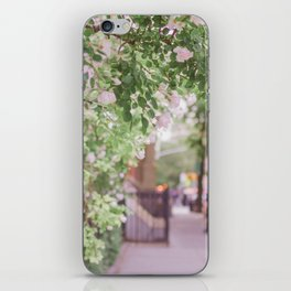 West Village in Bloom iPhone Skin