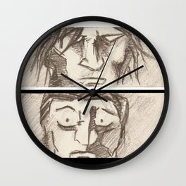 STAND OFF! (for the second time) Wall Clock