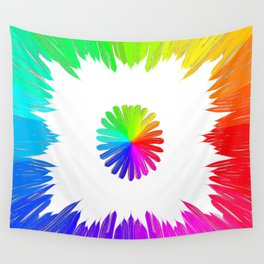Circle of life (white) Wall Tapestry