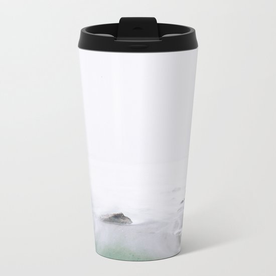 Mystic Ocean Metal Travel Mug
