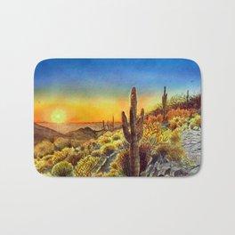Arizona's Sunset Bath Mat