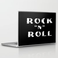 rock n roll Laptop & iPad Skins featuring Rock N Roll by Brian Raggatt