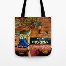 fly to Havana Tote Bag