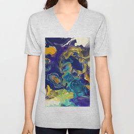 Deep Storm Unisex V-Neck