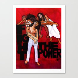 Fight the Power II Canvas Print