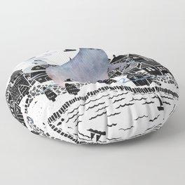 The Fog Floor Pillow