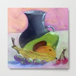 The Gray Jar Metal Print
