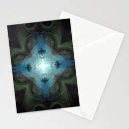 Sea Turtle Moon Stationery Cards