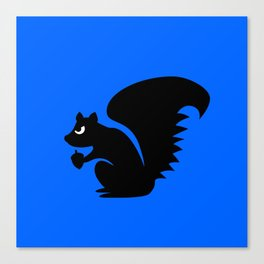 Angry Animals: Squirrel Canvas Print