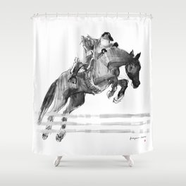 Horse (Jumper) Shower Curtain