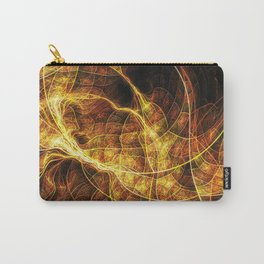 Fall Leaf Textures Carry-All Pouch