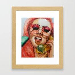 La Kali Uchis Framed Art Print