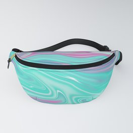 Iridescent Marble 07 Fanny Pack