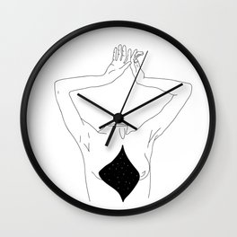 Lost her head Wall Clock