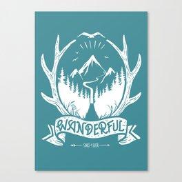 wanderful! Canvas Print