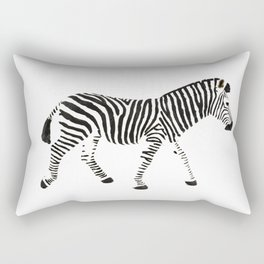 Disappearing Zebra Rectangular Pillow