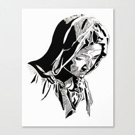 Virgen Canvas Print