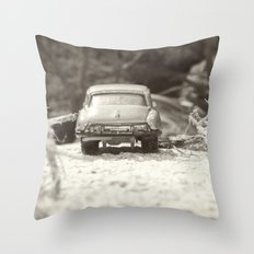Julians Journey 2 Throw Pillow