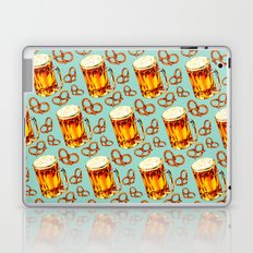 Beer & Pretzel Pattern Laptop & iPad Skin