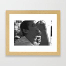 Buzzz Framed Art Print