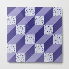 CubesIII/ Metal Print
