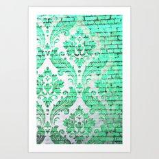 Urban Emerald Art Print