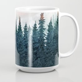 Forest Under the Sunset Coffee Mug