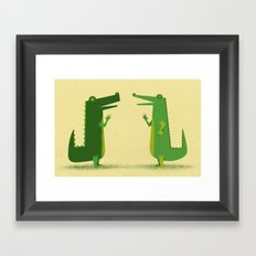 Later Gators Framed Art Print