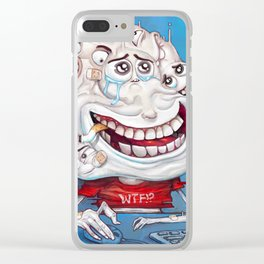 Faces chat Clear iPhone Case