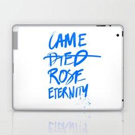 #JESUS2019 - Came Died Rose Eternity (blue) Laptop & iPad Skin
