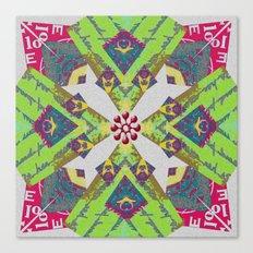Internal Kaleidoscopic Daze- 6 Canvas Print
