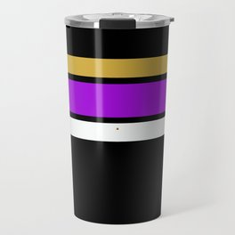 Team  Colors 2...Gold,purple Travel Mug