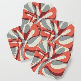 Orange Wave Coaster