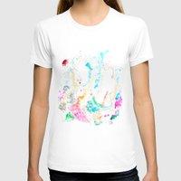 mermaids T-shirts featuring Mermaids  by Julie Lehite