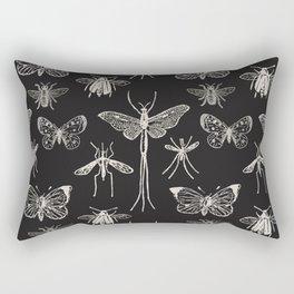 Moths & Butterflies & Insects & Dragonfly Rectangular Pillow