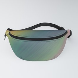 green blue red white abstract texture background Fanny Pack