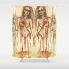 Survival Shower Curtain