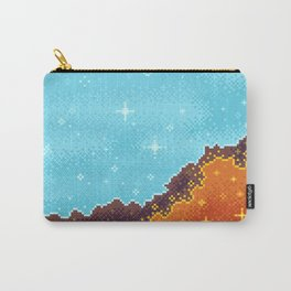 8bit Galaxy: Art Along #1 Carry-All Pouch