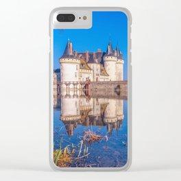 Famous medieval castle Sully sur Loire, Loire valley, France. Clear iPhone Case